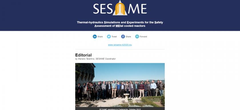 sesame newslettet