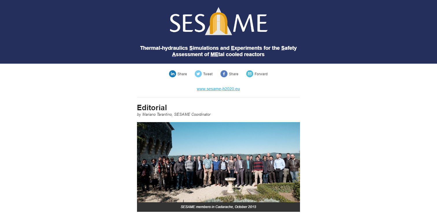 sesame newslettet
