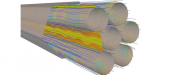 FLOW PULSATIONS AND VIBRATIONS SIMULATION